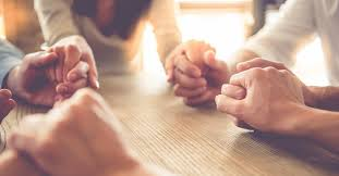 Prayer together hands